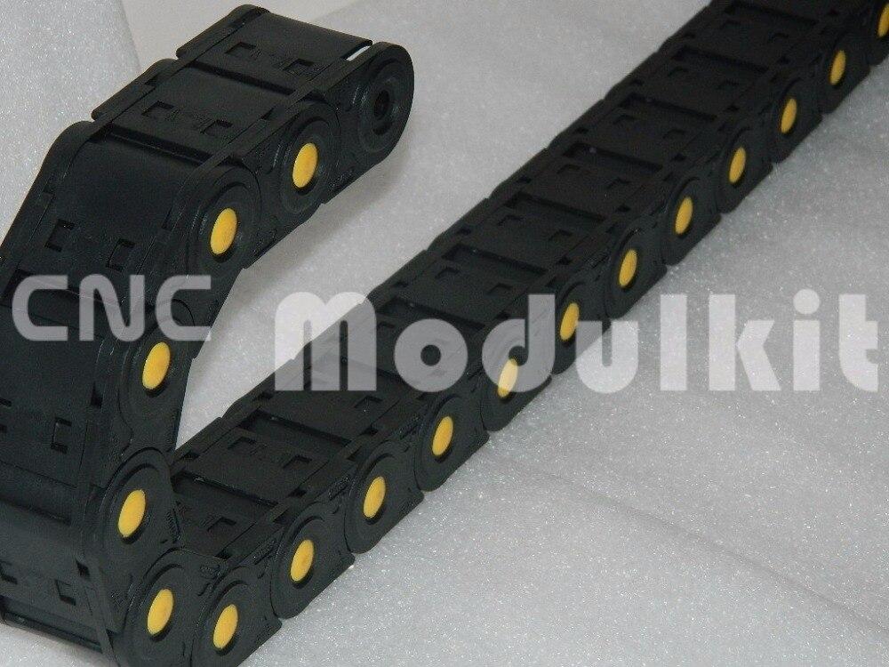 Cnc-bearbeitungszentrum Router Kabelschlepp Interne Größe 35x50 Geöffnet Träger Industrie Kunststoff Nylon Von Cnc Modulkit Ketten Heimwerker