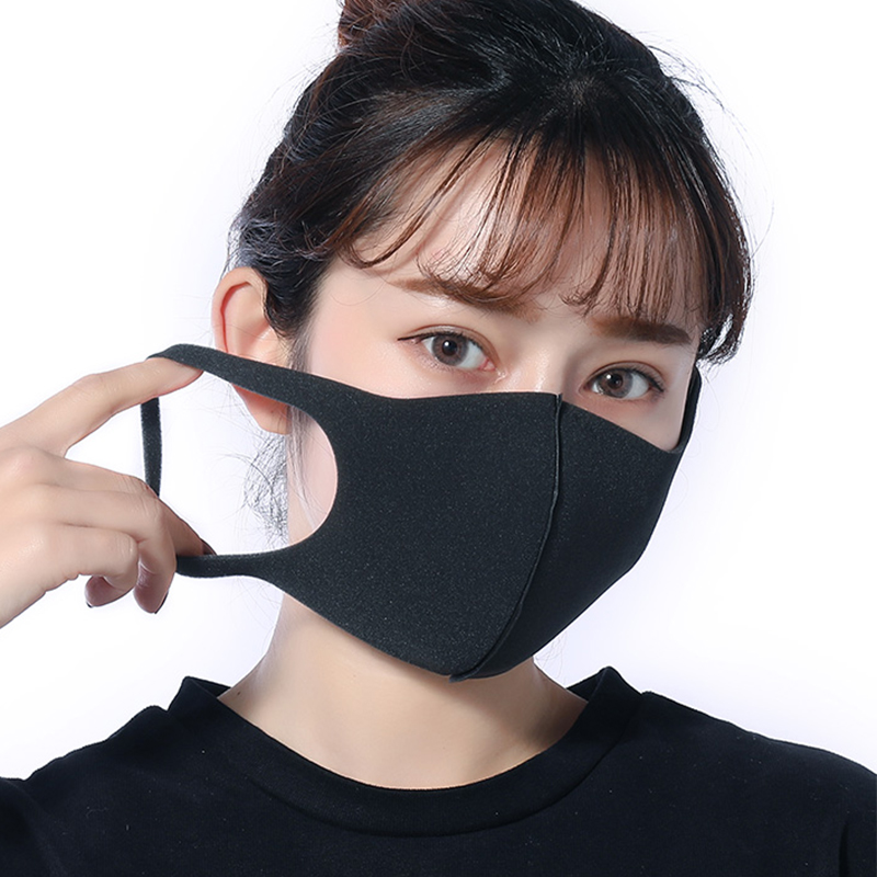 New Mask Summer Thin Silk Men Women Fashion Dustproof Cycling Sunscreen Face Mask Unisex Black Pinks