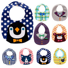 kawaii saliva bibs cute bibs kawaii feeding saliva towel high quality bandana baby bibs chicco biberon #F#3ot30(China)