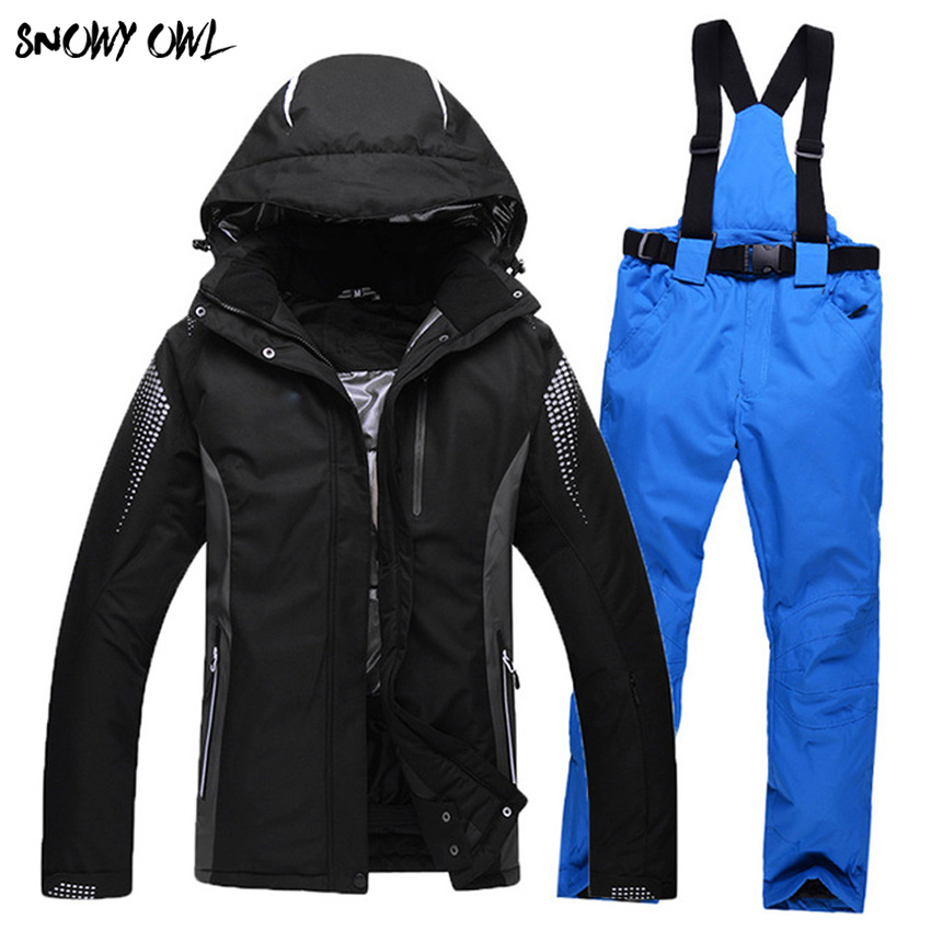 High-quality outdoor winter snowboarding suit men and women couple models ski jackets and pants thick warm waterproof h300 winter men jacket new brand high quality candy color warmth mens jackets and coats thick parka men outwear xxxl