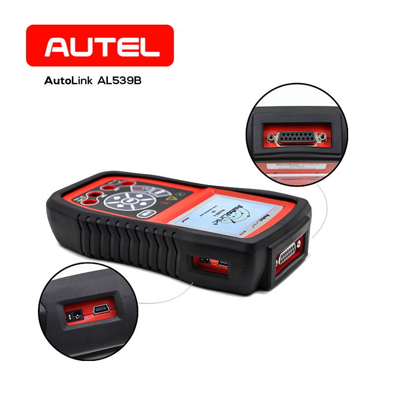 Здесь продается  Autel AL539B OBD2 Code Reader Car OBDII Scanner Automobile Electrical Test Diagnostic Tool with Read Codes,Clear Codes,Live Data  Автомобили и Мотоциклы