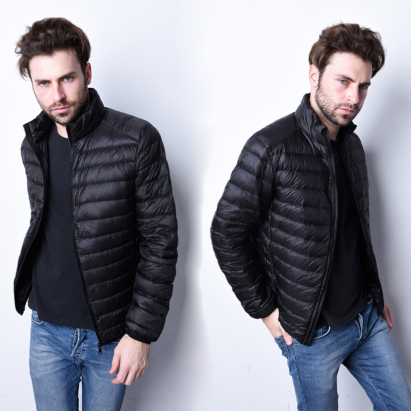 Aliexpress.com : Buy 2017 Fashion Mens Winter Down Parkas Men ...