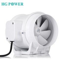 5 ''110 V Stille Inline Kanal Fan Auspuff Fan Hydroponischen Luft Gebläse Booster Fan für Home Bad Vent und wachsen Zimmer Belüftung