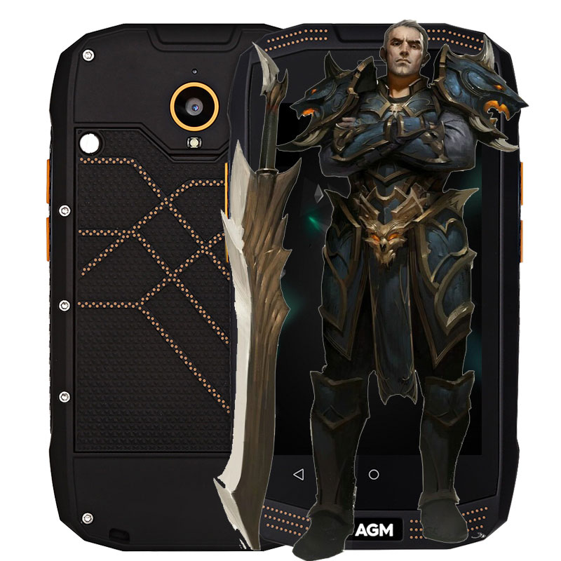 Original AGM A2 Rio 4G Smartphone 4 0 inch Android 5 1 MSM8909 Quad Core 1