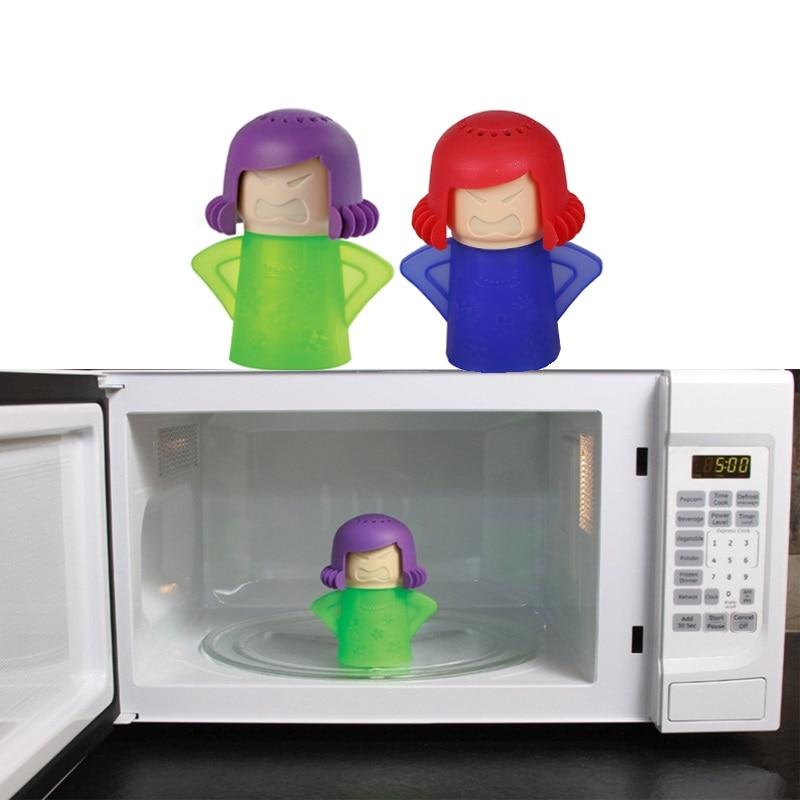 Haute Qualité Accueil Creative Micro-ondes Nettoyeur À Vapeur Accueil Cuisine De Nettoyage De Désinfection Gadgets 4 Couleurs Options 7.5*11*14.5 cm
