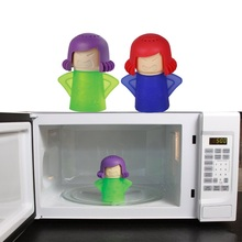 High Quality Home Creative Microwave Steam Cleaner Home Kitchen Disinfection Cleaning Gadgets 4 Colors Options 7.5*11*14.5cm