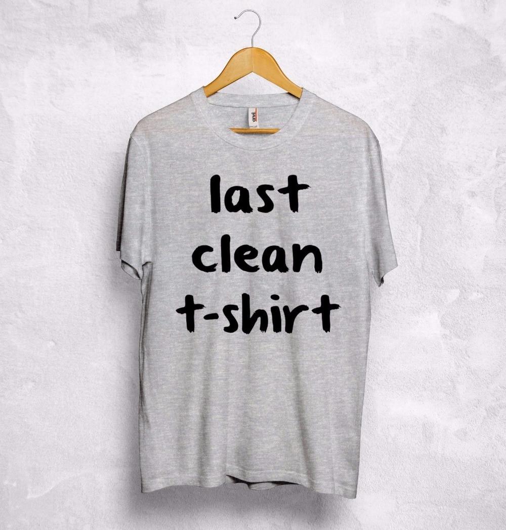 Utolsó tiszta póló Vicces szöveg szarkazmás Cara Delevingne - Női ruházat - Fénykép 3