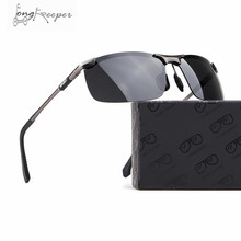Driving Cycling Photochromic Sunglasses Men Polarized Half Rimless Black Bike Sun glasses Sport Men Gafas Ciclismo Accessories
