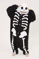 Winter New Sleepsuit Adult Cartoon Skeleton Skull Onesie Unisex Onesie Pajamas Cosplay Costumes