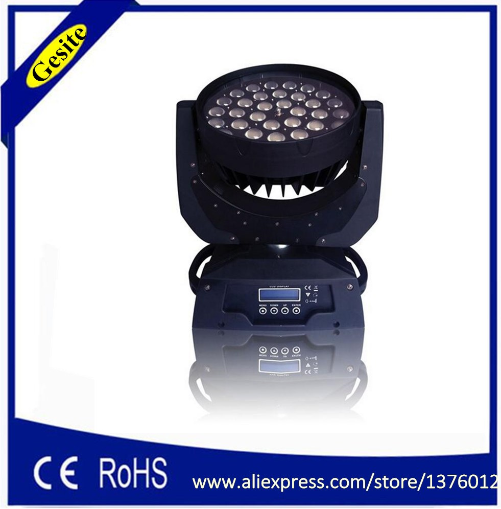 HOT 36 հատ հատ RGBAW + ուլտրամանուշակագույն - Կոմերցիոն լուսավորություն - Լուսանկար 2