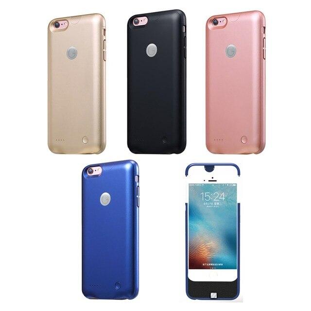 2500 мАч Зарядное Устройство корпуса батареи, за iPhone 6 6 s аккумулятор power bank чехол для iphone 6 6 s случае власть