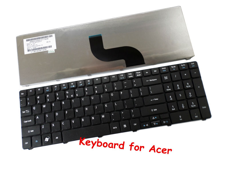 New genuine for <font><b>Acer</b></font> <font><b>Aspire</b></font> 5740 5740DG 5740G 7736 7736G 7736Z 5252 5253 5336 5552 <font><b>7736ZG</b></font> KB.I170A.228 Keyboard image