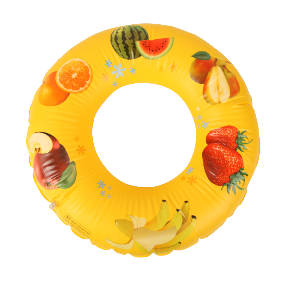 BOHS 70cm Fruit Patterns Inflatable Swimming Ring Pvc Childrens Pool Water Supplies Wholesale