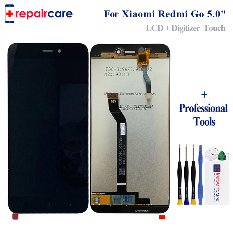 5.0 720x1280 For Xiaomi Redmi Go LCD Screen Display+Touch Digitizer Assembly For Xiaomi GO Display Replacement Parts5.0 720x1280 For Xiaomi Redmi Go LCD Screen Display+Touch Digitizer Assembly For Xiaomi GO Display Replacement Parts