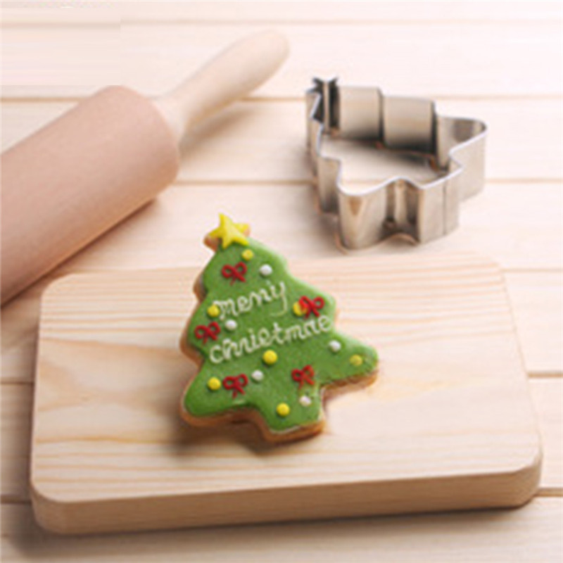 VOGVIGO Baking Mold for Stainless Steel Baking Accessories Classic Christmas Tree Mould Decoration Baking Tools New 2019