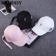 RBUDDY 2019 Cruz gorras de béisbol carta Hip Pop Snapback Primavera Verano  camionero sombrero de papá 45849c899bd