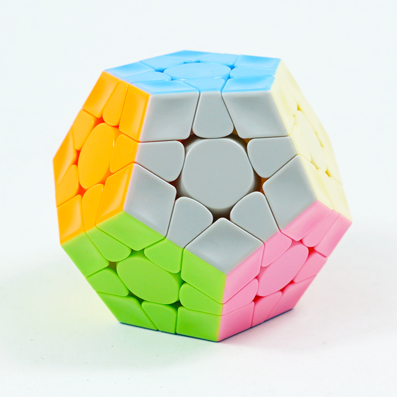 Gan 3x3 Megaminxeds Magic Cube Stickerless Speed Professional 12 Sides Puzzle Cubo Magico Educational Toys For Children