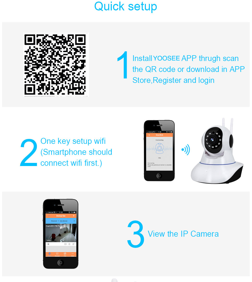 2mp Hd 1080p Ptz Wifi Ip Camera Ir Cut Night Vision Two Way Audio View Mobile Dvr With Shock Sensor And Controller Adapter 02 03 04 05 06 07