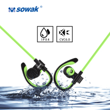 Sowak Q7+ Sport Headphone Wireless Bluetooth hybrid technology earphone AptX HIFI with Mic for iphone all kinds of android phone