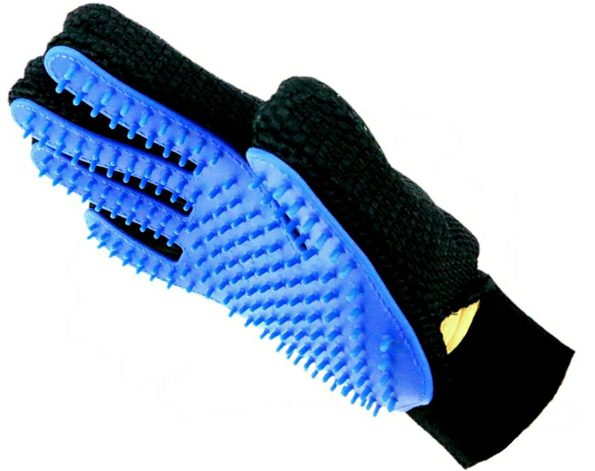 Pet Dirt Remover + Bath + Massage Gloves 9