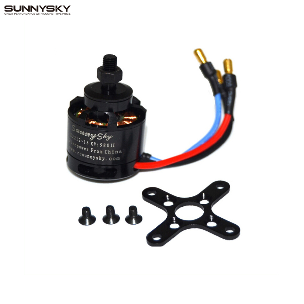 1pcs 100% Original SUNNYSKY X2212 980KV KV1400/1250/2450  Brushless Motor (Short shaft )Quad-Hexa copter  Wholesale Promotion 4 x sunnysky x2212 kv980 brushless motor page href page 5