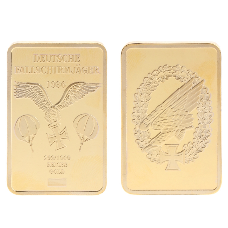 Nieuw Parachute Eagle Golden Square Collectie Arts Gifts Souvenir - Huisdecoratie