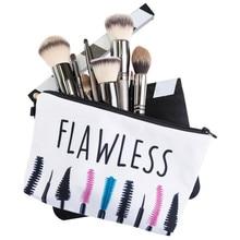 Jom Tokoy 2017 New Fashion 3D Printing Women Flowers Fashion Brand Travel Makeup Case Cosmetic Bags