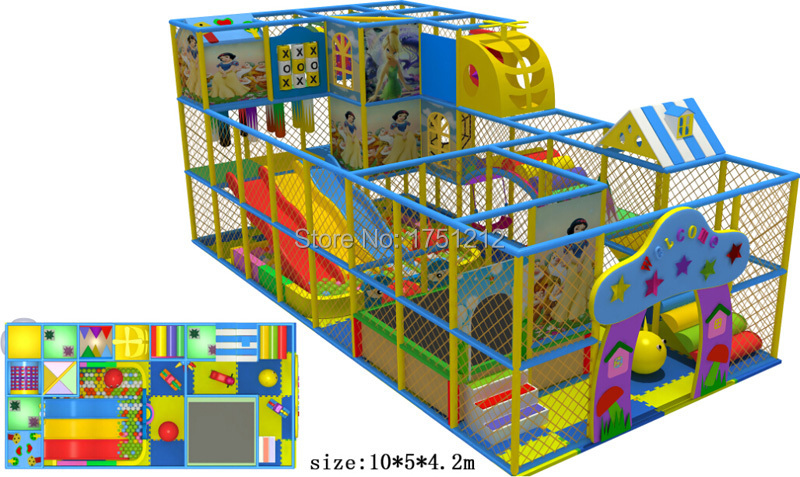 Top Quality Eco Friendly Indoor Kids Playground Ce Certificated - Juegos-infantiles-interior