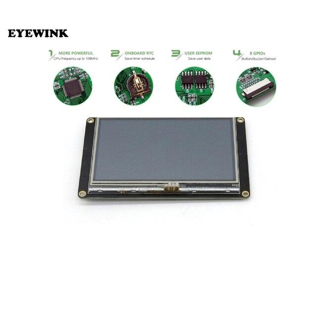 Сенсорный ЖК модуль для Raspberry Pi NX4827K043, 4,3 дюйма