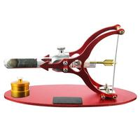 Love Arrow Shape Stirling Engine Model External Combustion Educational Alcohol Lamp Model Decoration for Kid Adult