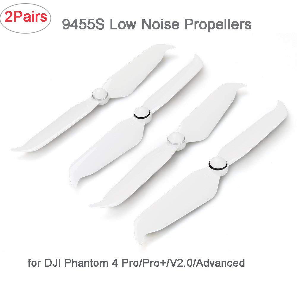 4Pcs Genuine 9455S Low Noise Quick-release Propellers Props CCW/CW Blades for DJI Phantom 4 Pro V2.0/Pro+/ Advanced DR2621 4 pairs eachine 3020 propellers cw ccw for bg1104 4000kv motors dys x160