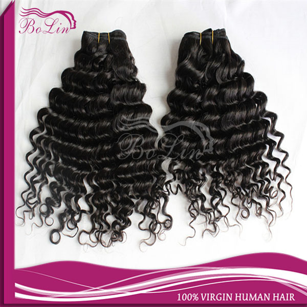 100 Human Unprocessed Virgin Hair Bundles Sales Comdodian Deep Wave