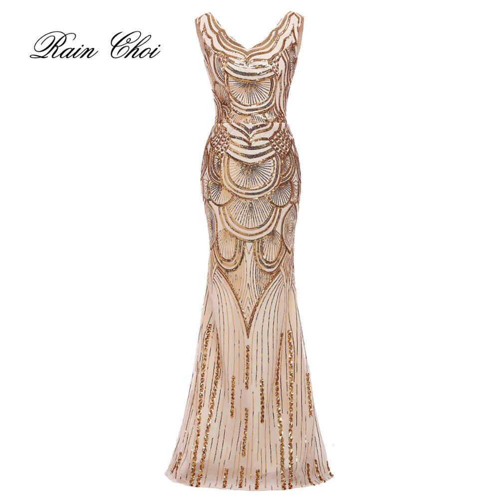Русалка вечернее платье 2017 vestido de noiva V образным вырезом блесток пикантные Длинные вечерние платья