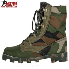 Men Tactical Combat Army Ankle Boots Breathable Hiking Shoes Camouflage Sport Hunting Mountain Climbing Shoes Desert Boots Men army fan outdoor camouflage non slip tactical boots men s combat boots commando army boots men desert safty shoes