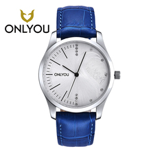 Men's Watches Fashion Casual Watch 50M Waterproof Luxury Brand Quartz Female Watches Gift Clock ONLYOU Dress Wristwatch Women