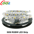 LED Strip 5050 RGBW DC12V 60 LED/m RGB+White / RGB+Warm White Flexible LED Light 5m/lot.