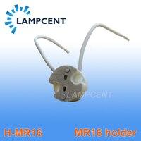 free shipping Bi Pin Socket Ceramic Body for bulbs with base GU5.3, G4, MR11, MR16 spotlight