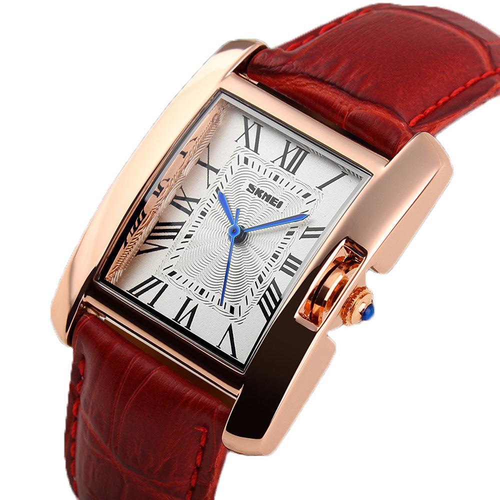 Prix pour Femmes Montres dames Robe De Mode Casual Or Bracelet À Quartz montres montre femme Bracelet En Cuir Horloge reloj mujer