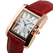 Relojes de las mujeres Vestido de las señoras de Moda Casual relojes de Pulsera de Cuarzo de Oro Correa de Reloj de Cuero reloj mujer montre femme