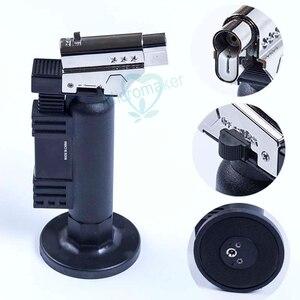 Image 3 - Instrumento dental gás butano micro tocha queimador de solda arma mais leve chama soldador à prova vento fonte fogo