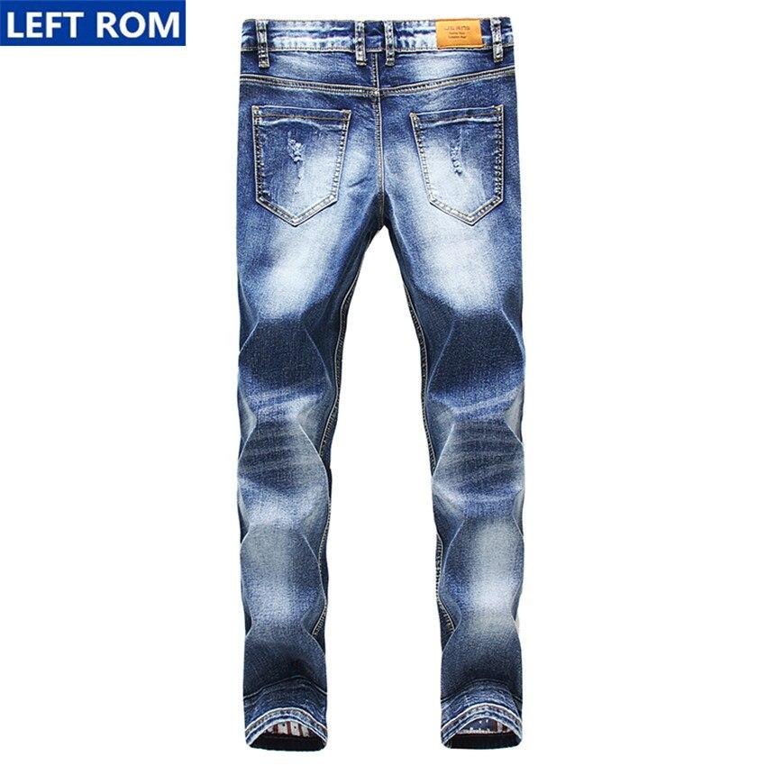 ff885a8fd8b Jeans para hombre 2017 nueva venta caliente moda casual juventud Slim  convencionales vaquero Denim Pantalones de alta calidad tamaño por 28 29 30  34 en ...