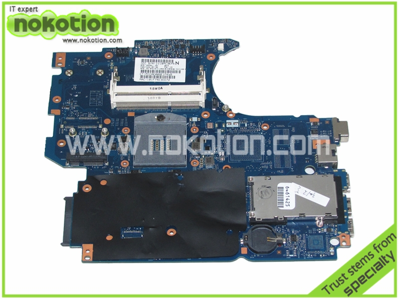 NOKOTION 658341-001 Laptop Motherbopard for HP 4530S 4730S HM65 HD graphics Mother Boards Mainboard full tested warranty 60 days multi function green