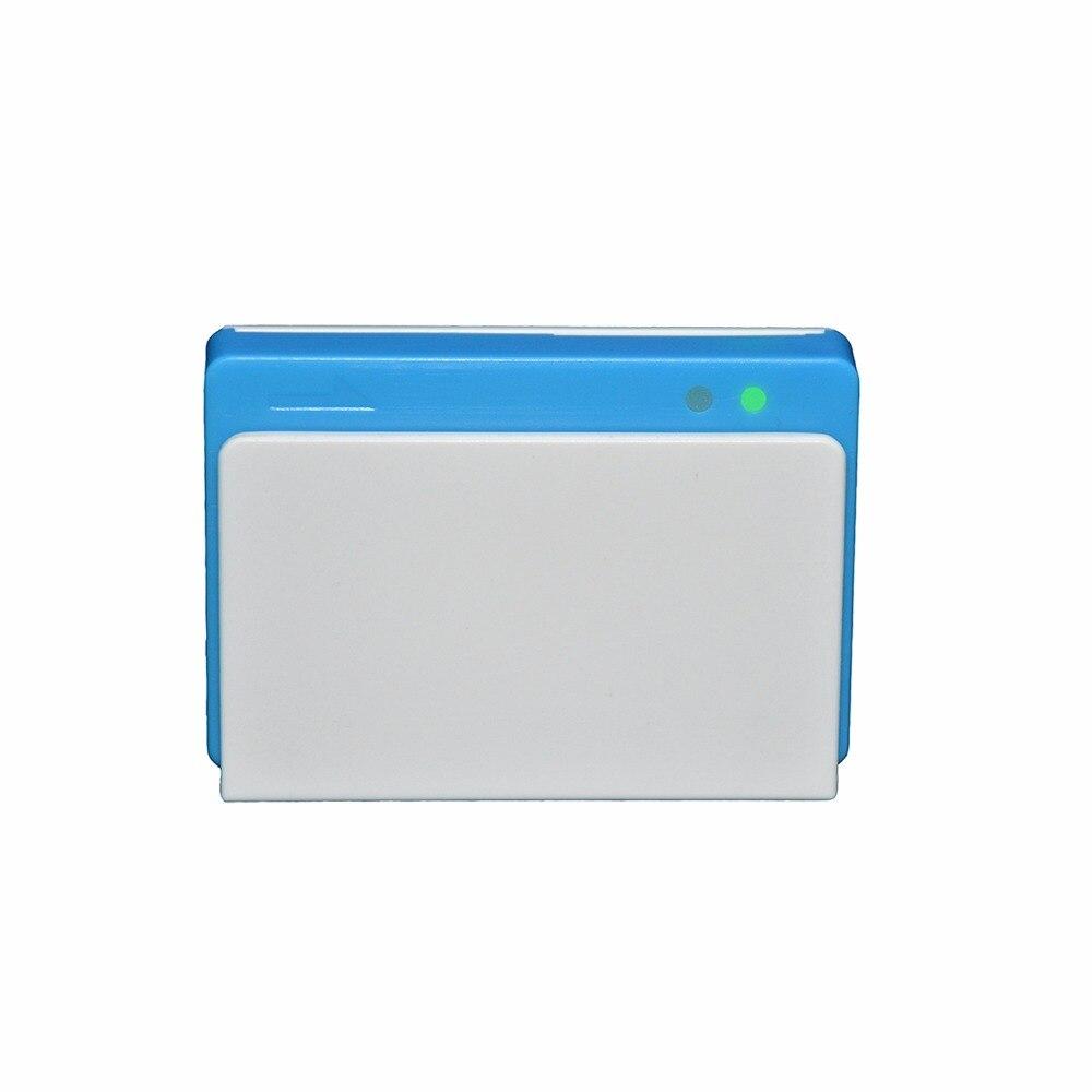 Lecteur de carte Mobile Bluetooth trois-en-un avec Contact/carte à puce sans Contact MPR110 - 6