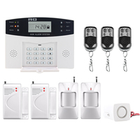 Saful LCD Display Home Security Alarm Wireless GSM System SMS Top Quality Russian English Spanish French
