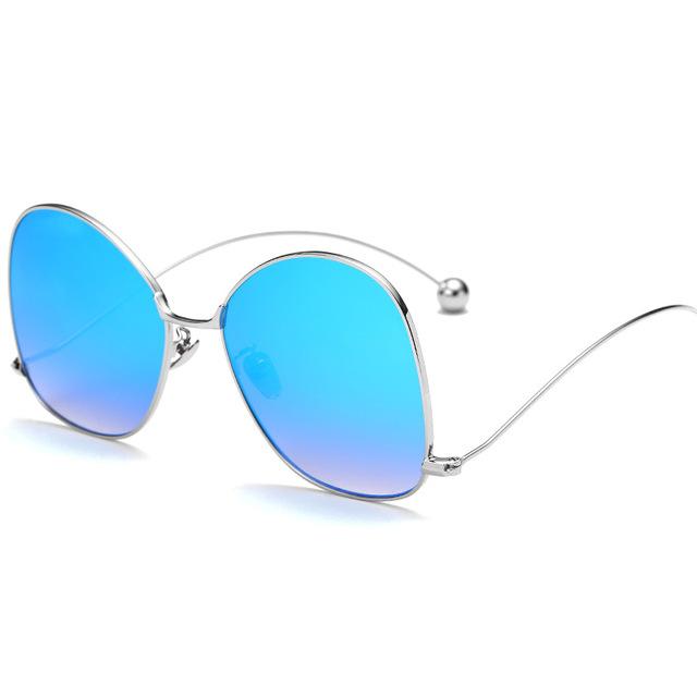 2016 Fashion Round Sunglasses Women Brand Designer Sun Glasses Polarization Men Gafas De Sol Vintage oculos de sol feminino 110