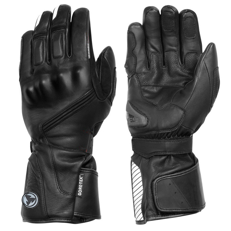 2017 NEW GORE-TEX Winter Warm Waterproof <font><b>Gloves</b></font> Motorcycle Cycling Leather Windproof <font><b>Gloves</b></font> Riding Guantes Luvas MOTO Gants