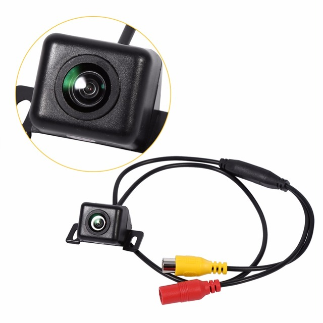Black Car 170 Degree Wide View Angle Reverse Backup Rear View Camera Waterproof Monitor For Parking Mini  CCD Camera