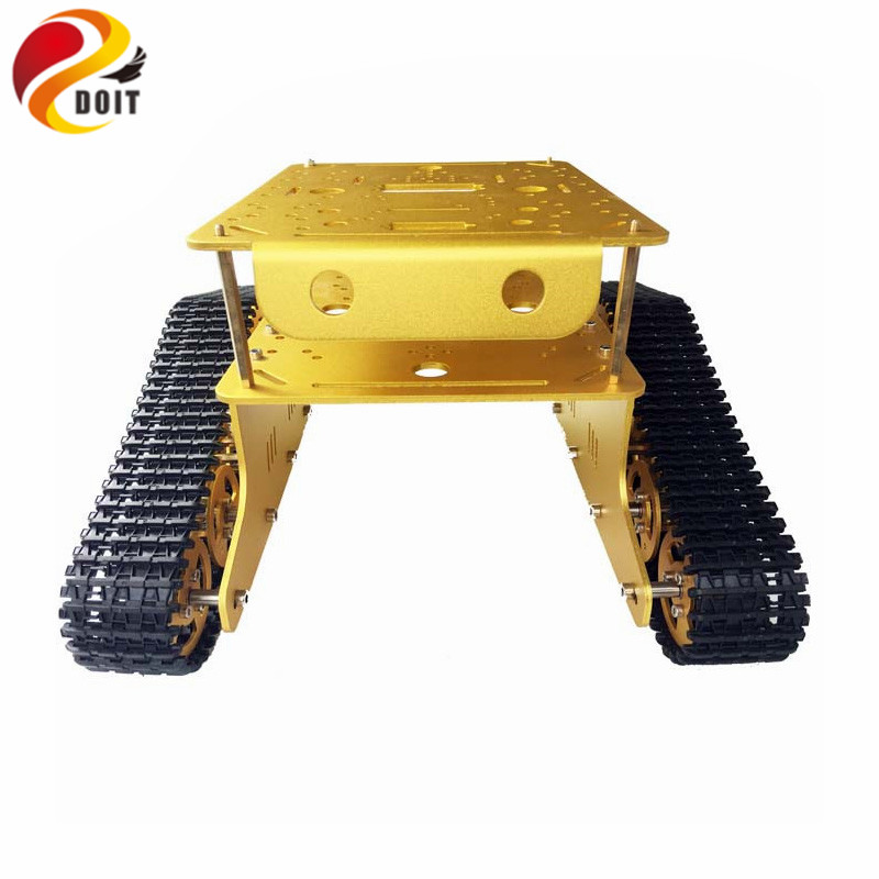 lost майка sleds td tank charcoal Official DOIT TD300 Double Crawler Tank Chassis Car Model Arduino wall-e robot of Gen Guest Contest