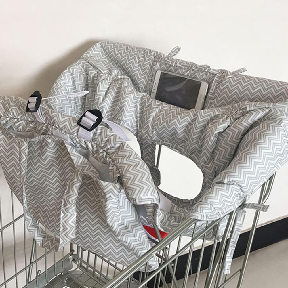 Baby Shopping Cart Baby Seat Cover Protection Cover Trolley Soft Pad Infant Dini