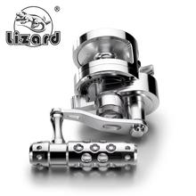 2017 New CNC Full Metal Jigging Reel 26kg Drage Force Deep Sea Saltwater Boat Fishing Reel Trolling Reel
